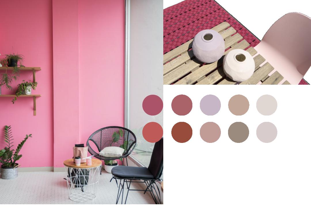 imagen paleta de colores decoracion interior