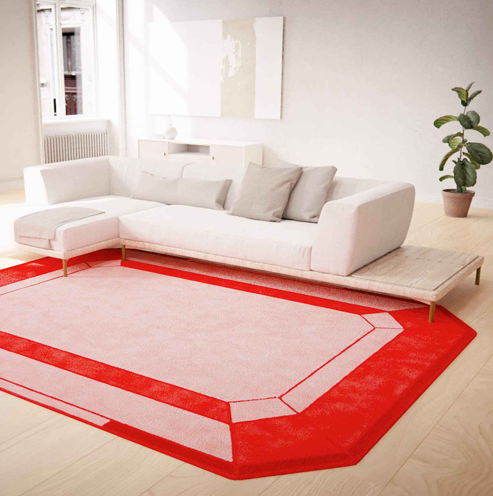 alfombra-lana-forma-diamante