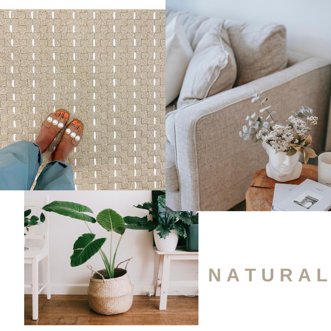 alfombra+sofa en colores natural