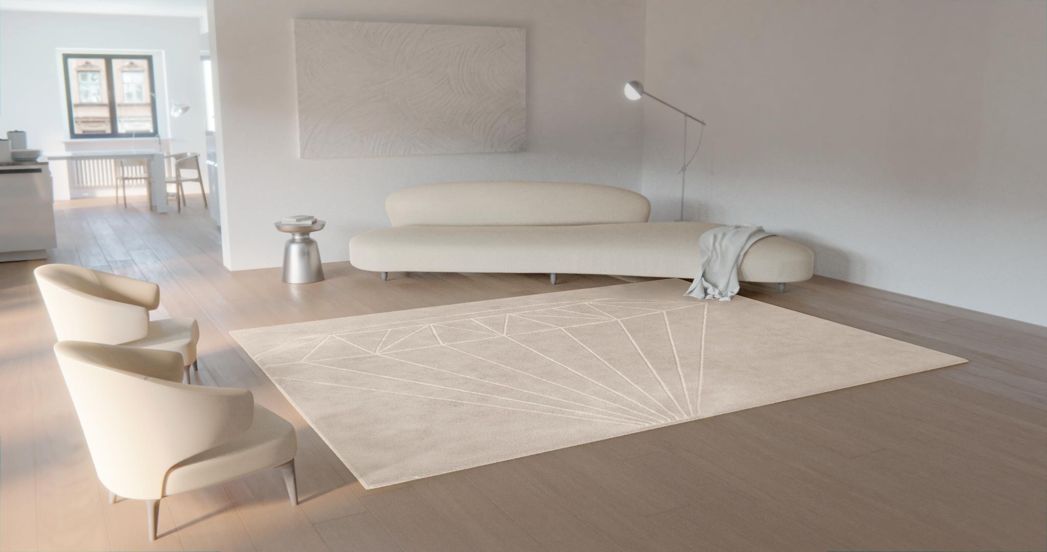 alfombra y sofá a juego para salon