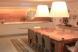 alfombra de vinilo tejido en cocina
