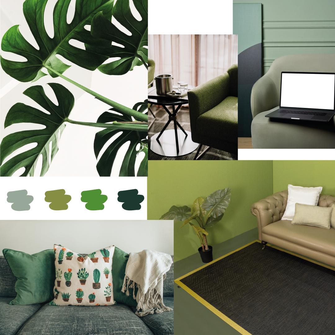 verde el color del verano para el hogar